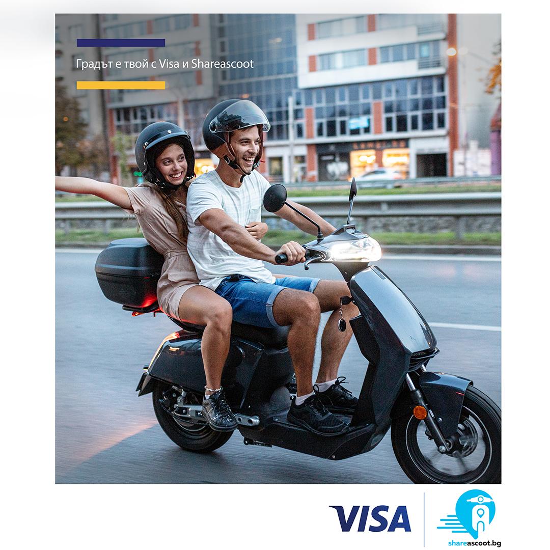 Visa and Shareascoot